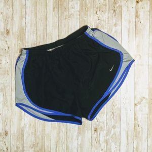 Nike Tri- Color Tempo Dri-Fit Athletic Shorts